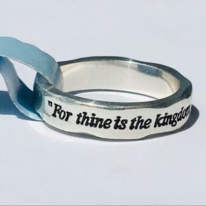 NEW Brighton For Thine is the Kingdom Ring